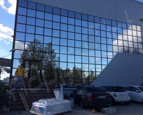 folie solara silver exterior cladire prodplast